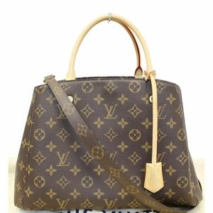 LOUIS VUITTON Montaigne MM Monogram Canvas Bag
